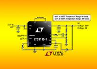 40V, 2A Synchronous Buck-Boost DC/DC Converter Offered in High Temperature H Grade & High Reliability MP Grade