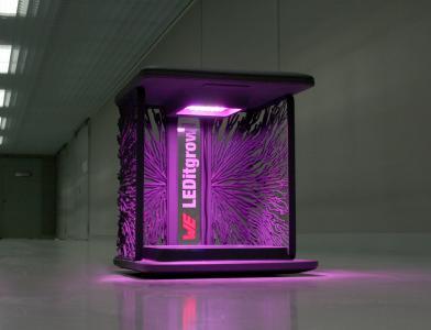 Am Stand von Würth Elektronik wird die LED Horticulture-Box beim diesjährigen GREENTECH FESTIVAL zu sehen sein. Mit der App Horticulator können hierfür angepasste Lichtrezepte für verschiedene Pflanzenarten erstellt werden / Bildquelle: Würth Elektronik