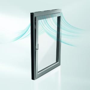 Ausgezeichnet mit dem Red Dot: Product Design Award 2021: Schüco Nullschwelle für Aluminium-Fenster- und Aluminium-Türsysteme. Bild: Schüco International KG