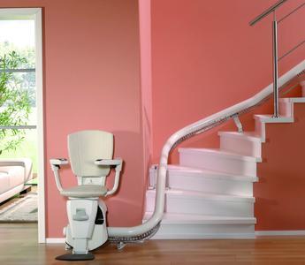 Der Antrieb des Treppenliftes Flow muss hohen Anforderungen gerecht werden