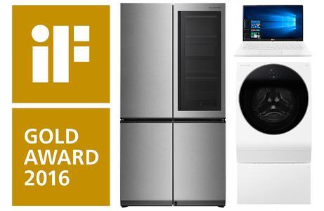 LG großer Gewinner mit Rekordanzahl iF Design Awards