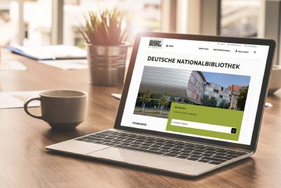 Deutsche Nationalbibliothek mit neuer Website