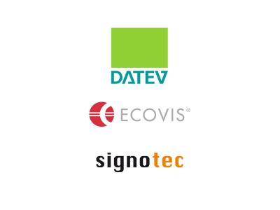 Pracital example Ecovis: Digital cooperation between chancellery and client - enabled by DATEV and DIGISign
