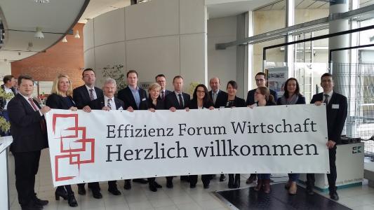 Organisatoren und Partner des 4. Effizienz Forums Wirtschaft / Foto: Effizienz-Agentur NRW