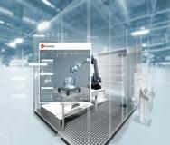 Fastems Dienstleistungen für das robotergestützte Entgraten auf Basis einer leistungsstarken Simulationssoftware: Kostengünstige Entgratungsanalyse zur Beschleunigung der Fertigungsrate von Roboter-Endbearbeitungszellen. (Foto: Fastems/industryview/iStockphoto)