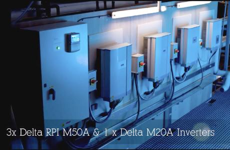 Delta RPI inverter installation at Albert Darnell Ltd.