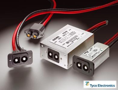 60A Netzeingangsfiltern von Tyco Electronics