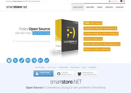 SmartStore.NET - Open Source ASP.NET E Commerce Software