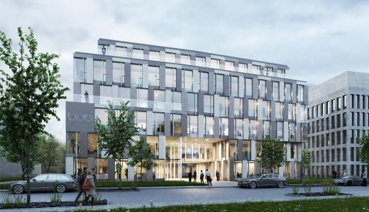 Neue BOB-Büroflächen entstehen am Düsseldorfer Flughafen