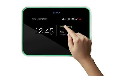 Evoko Room Manager mit Touch-Screen