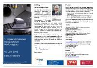 Programm des 1. Niedersächsischen Industrieforums Werkzeugbau