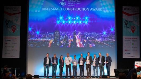 Finalisten und Mitarbeiter des BIM / SMART CONSTRUCTION AWARD