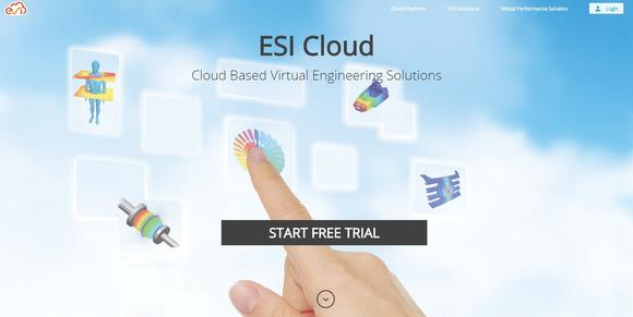 ESI Cloud provides a comprehensive solution for end-to-end CAE in the cloud