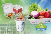Soluciones ecológicas de ILLIG: más de un 50% menos de plástico con I-PACK®.