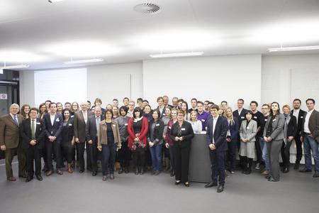 33 Stifter, 102 Geförderte: Empfang für die Förderer und Stipendiaten des Deutschlandstipendiums / Fotograf: Dennis Welge, Hochschule Bremen