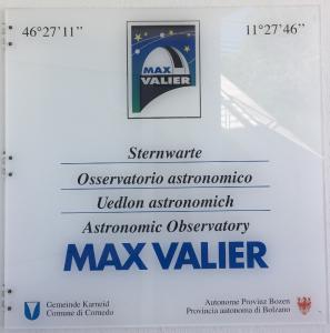Max Valier Schild