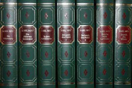 Noch immer gern gelesen: Karl-May-Bücher