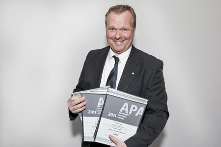 Auch Micheal Meyer von Brillux wurde mit dem APA ausgezeichnet.