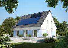 """Das energieeffiziente Massivhaus """"EcoStar Independa"""" von Heinz von Heiden entspricht KfW-Standard """"Effizienzhaus 70"""". Ziel des gemeinsamen Projekts ist das Haus zur Energiewende, das trotz der zukunftsweisenden und unabhängigen Haustechnik für jeden Bauherren erschwinglich ist / Bild: Heinz von Heiden"""