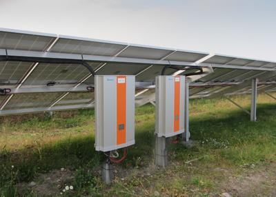 Solarpark Lauchhammer - Wechselrichter von Delta