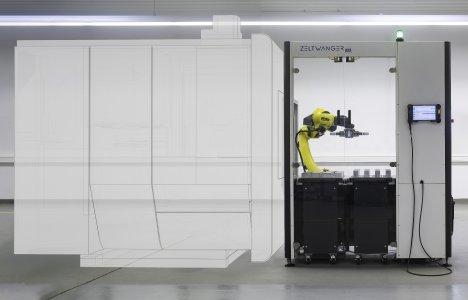 X-LOAD eco für die automatisierte Be- und Entladung von Werkzeugmaschinen