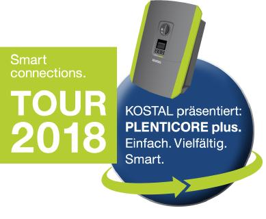 Smart connections.Tour 2018: Smarte Tour - smarter Wechselrichter