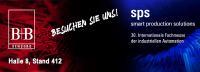 B+B ist auf der Messe SPS in Nürnberg
