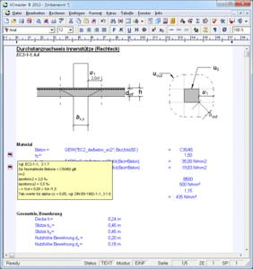 During the transition period, the templates, compliant with the Eurocode and including detailed comments, are a valuable tool for a fast and efficient introduction to working with these new standards in construction engineering.  The calculation templates have been designed such that on the one hand they clearly explain the new regulations related to the Eurocode whilst on the other, they can be used throughout in practice.