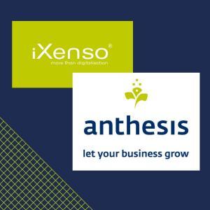 Kooperation der anthesis GmbH mit IT Beratungshaus iXenso