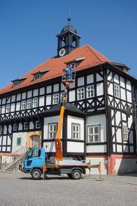 Multicar FUMO mit Hubarbeitsbühne: Arbeiten bis in 21 Metern Höhe.