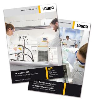 New complete LAUDA brochure for temperature control devices 2016/2017, now available