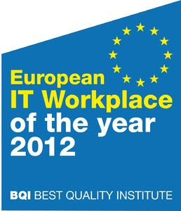 European IT Workplace Award of the Year 2012