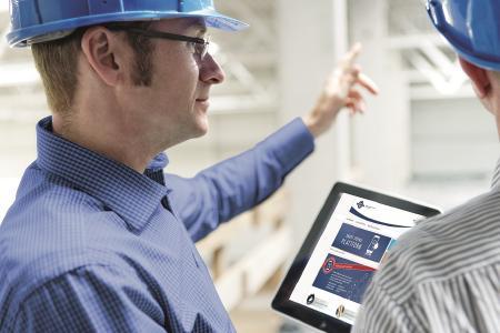 Hilfreiches Tool: Smart-DOYMA-Plattform auf der Baustelle