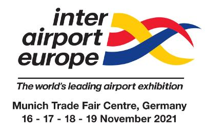 inter airport Europe 2021 date change announced: next exhibition will take place from 9 – 12 November 2021 at the Munich Trade Fair Centre in Germany