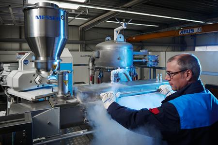 Outside of Powtech, Messer offers individual sample grinding trials to potential customers at its cold grinding technology centre near Krefeld, Germany.
