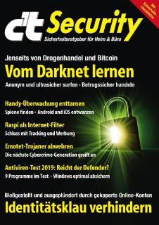 Sonderheft c't Security 2019