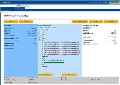 GEZE WinCalc – das Berechnungsprogramm für die Fenstertechnik; blitzschnelle Berechnung der optimalen Antriebslösung