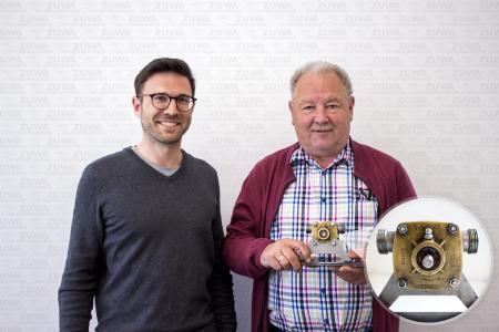 Simon Mangelberger und Hr. Denk