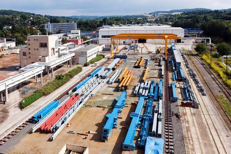Plauen Stahl Technologie GmbH, Plauen. Jährlich verlassen etwa 20.000 Tonnen Stahlkonstruktion die Werkshallen. Konstruktionen bei denen Sicherheit und Qualität oberste Priorität haben