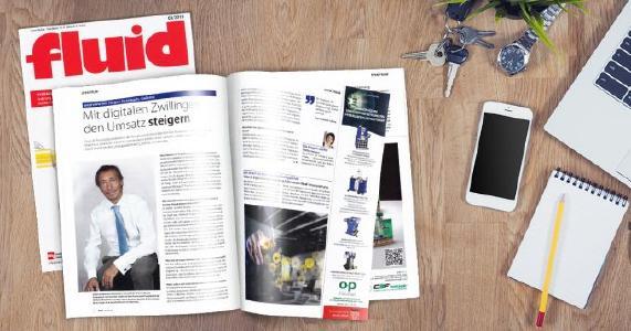Interview mit CADENAS Geschäftsführer Jürgen Heimbach im Fachmagazin fluid