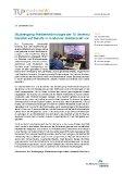 [PDF] Pressemitteilung: Studiengang Medientechnologie der TU Ilmenau bereitet auf Berufe in moderner Medienwelt vor