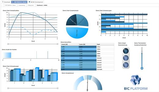 BIC Monitor, das Prozess Performance Management Werkzeug der BIC Platform