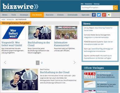 WEKA MEDIA PUBLISHING GmbH: bizzwire geht online!