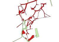 Bewertungzonen der Verschneidungs- und Restflächen