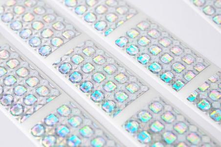 Hologramm-Etiketten Produktschutz