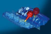 hyperMILL® 2009.1 bietet neue Möglichkeiten beim automatisierten Programmieren Spiegeln ermöglicht das komfortable Reproduzieren von Bearbeitungen identischer, ähnlicher oder symmetrischer Geometrien