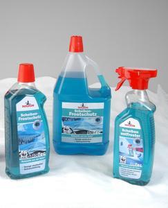 Die BioTec-Serie umfasst derzeit einen Scheibenfrostschutz (bis -22°C) sowie einen Scheibenentfroster (bis -55°C).