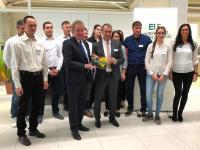 Auszeichnung Ort voller Energie / Bildquelle: Fachverband Elektro- und Informationstechnik Baden-Württemberg
