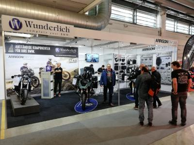 Wunderlich Premium-Partner ARRIGONI SPORT präsentiert die Wunderlich-Welt in Halle 1 | Stand A02