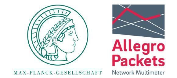 Allegro Packets gewinnt Max-Planck-Institute